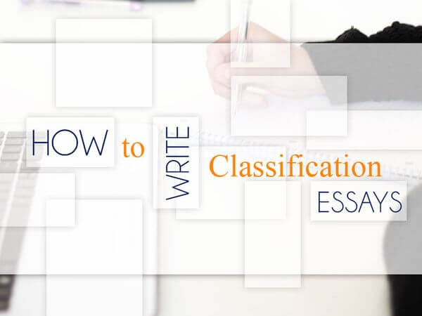 Classification Essay Writing